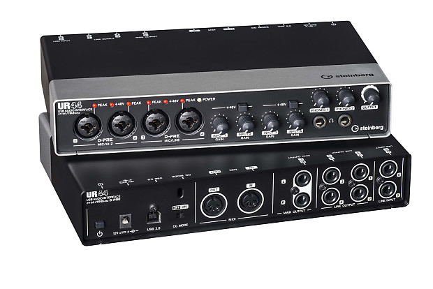 steinberg ur44 audio interface with cubase ai6 daw software reverb. Black Bedroom Furniture Sets. Home Design Ideas