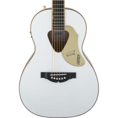 Gretsch G5021WPE Rancher Penguin Parlor Acoustic Electric, White for sale