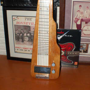 1940's Noble by Magnatone Lap Steel Guitar Pro Setup for sale