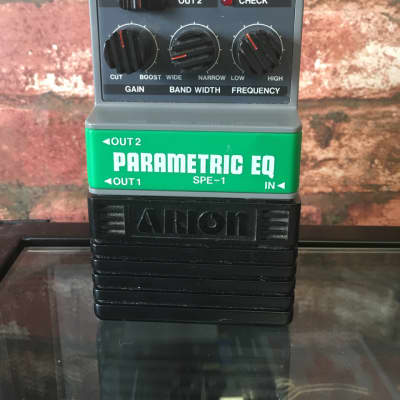 Arion SPE-1 Parametric EQ Pedal with Sustain EQ, not Graphic, MIJ, Notch Filter for sale