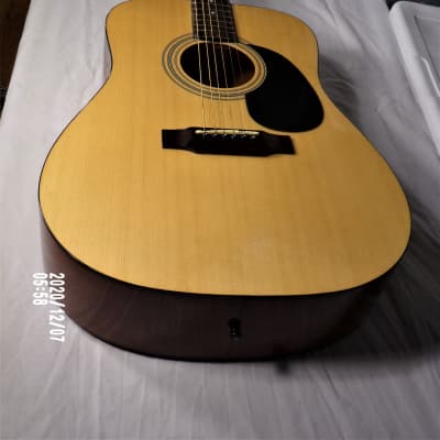 ASC S101-Acoustic Guitar/Gloss Natural (+ Bonus Extras) for sale