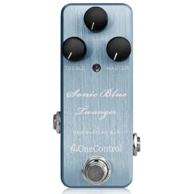 One Control Sonic Blue Twanger Overdrive Pedal - Designed By BJFe for sale