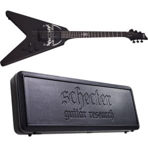 Schecter Sin Quirin V-1 Plus Schecter SGR-V8 Case! *NEW* V1 Ministry Signature for sale