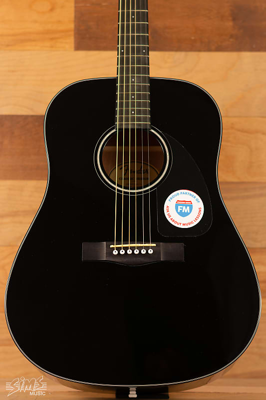 fender cd 60 dreadnought v3 with case walnut fingerboard reverb. Black Bedroom Furniture Sets. Home Design Ideas