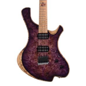 o3 Guitars Radon - Purple Nightmare - Hand Made by Alejandro Ramirez Custom Boutique Electric Guitar for sale