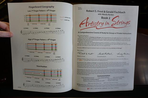 Artistry in Strings Violin Book 2 W/CD | No Limit Guitar Co