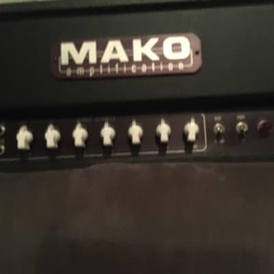 Mako Dorado Black  PTP High Gain Amp 6550 Tubes for sale