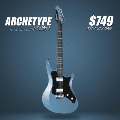 Balaguer Archetype Standard (Metallic Lake Placid Blue) for sale