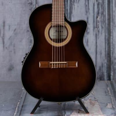 Ibanez GA35TCE Thinline Classical Acoustic/Electric, Dark Violin Sunburst
