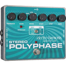 Electro-Harmonix Stereo Polyphase Analog Optical Envelope/LFO Pedal