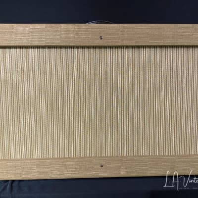 Kerry Wright 2 x 10 Custom Cab - Brown Textured Finish & Vintage Celestion CL13 Speakers