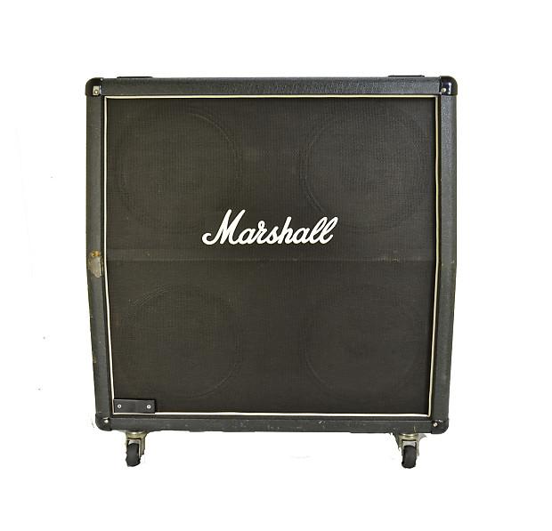 marshall 1960a 300w 4x12 guitar cab 1998 w british uk reverb. Black Bedroom Furniture Sets. Home Design Ideas