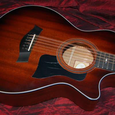 MINT! Taylor 356ce Tropical Mahogany/Tasmanian Blackwood Grand Concert Acoustic Electric Guitar