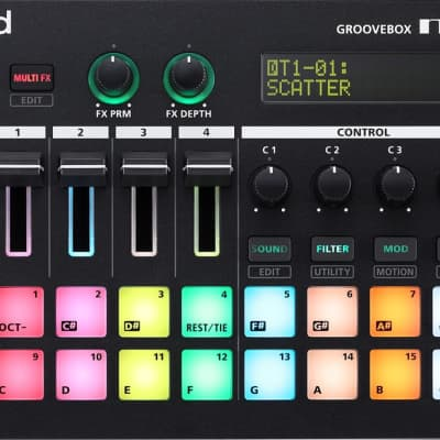 Roland MC-101 4-Track Groovebox Music Workstation
