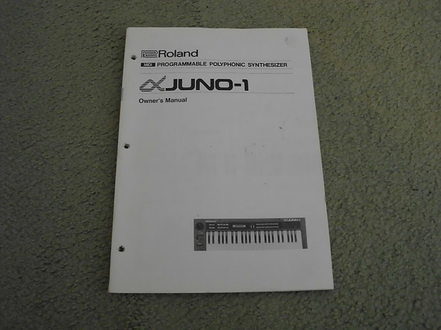 roland juno 6 service manual