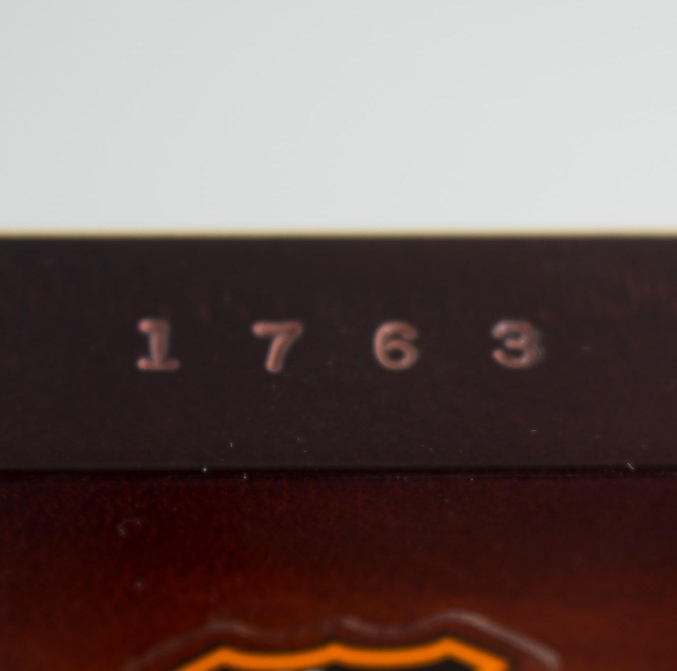 National  Style 0 Deluxe Resophonic Guitar (2004), ser. #1763-2, original black tolex hard shell case.