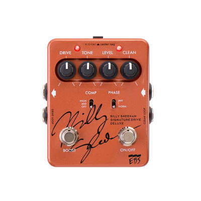 EBS Billy Sheehan Signature Drive Deluxe Bass Deluxe
