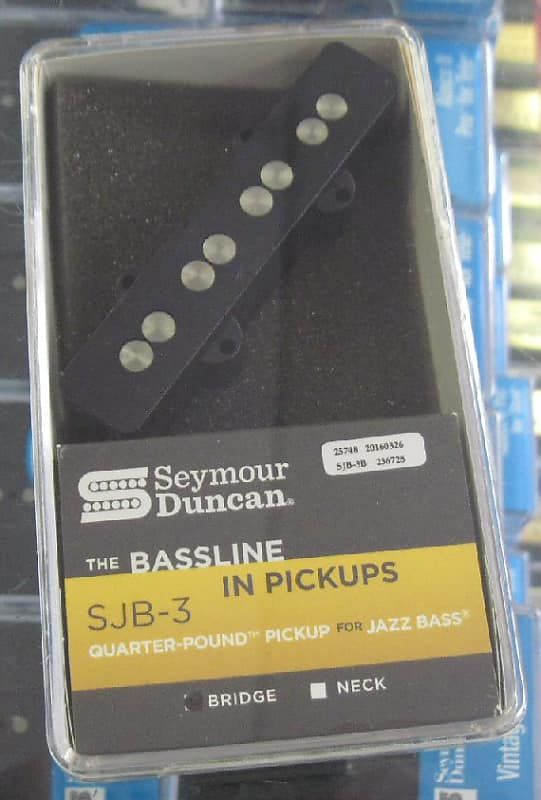 SJB-3b // SJB-3n Seymour Duncan Quarter Pound for Jazz Bass