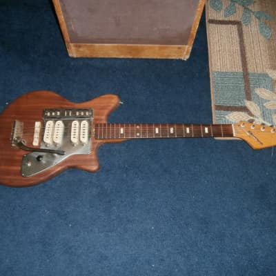 Vintage 1960's Bradford / Guyatone LG-140 Electric Guitar! Made in Japan! for sale