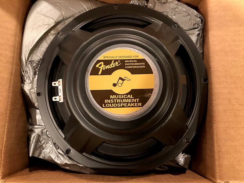 Fender 10 inch original super champ speaker