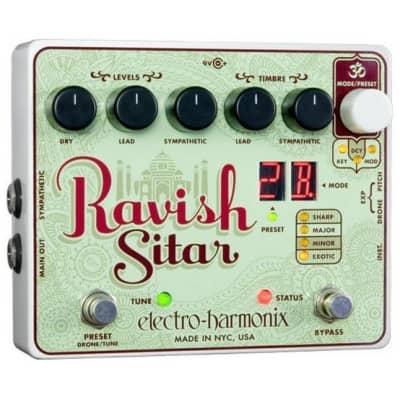 Electro-Harmonix Ravish Sitar Pedal for sale