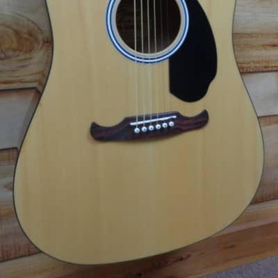New Fender® FA125 Dreadnought Acoustic Guitar Natural w/Gigbag