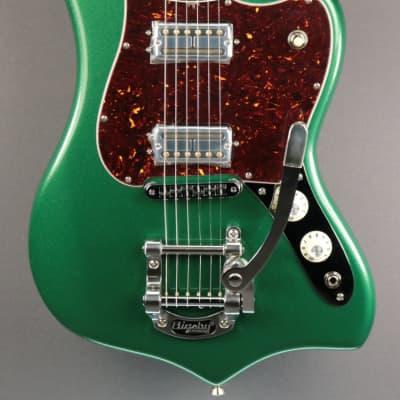 NEW Fender Parallel Universe II Maverick Dorado - Mystic Pine Green (117) for sale