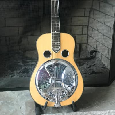 National/Scheerhorn Custom  L body resonator guitar 2012? natural top for sale
