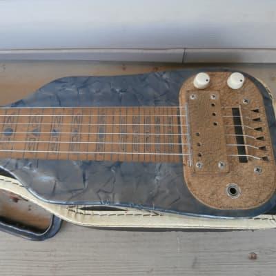 Vintage 1958 Supro (Valco) Lap Steel Hawaiian Guitar w/ Original Case! for sale