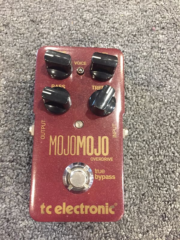 tc electronic mojomojo overdrive guitar effects pedal reverb. Black Bedroom Furniture Sets. Home Design Ideas