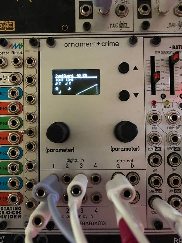 Ornament and Crime mxmxmx panel | Synth Shack