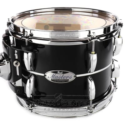 Pearl Masters Maple Complete 12x8 Tom - Quicksilver Black