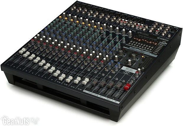 Yamaha emx5016cf 16 channel 1000w powered mixer gearnuts for Yamaha powered mixers