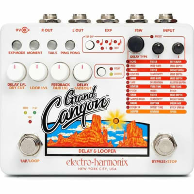 Electro Harmonix Grand Canyon Delay & Looper Pedal for sale