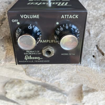 Maestro Gibson FZ1-1 Fuzz Tone reissue with box and manual for sale