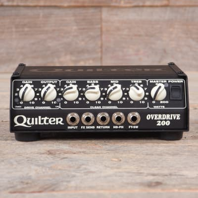 7efdc4ad58 Quilter Labs Overdrive 200 Head USED