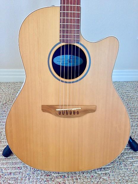 Acoustic Electric Guitars Ovation Balladeer Special Ax Electro Acoustic Guitar Made In Usa Guitars & Basses