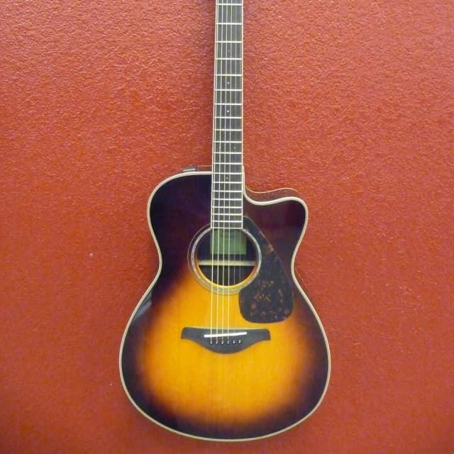 Yamaha  FSX830C Brown Sunburst image