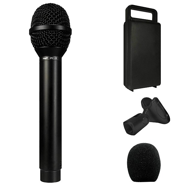 nady spc 15 condenser microphone tailored to enhance reverb. Black Bedroom Furniture Sets. Home Design Ideas