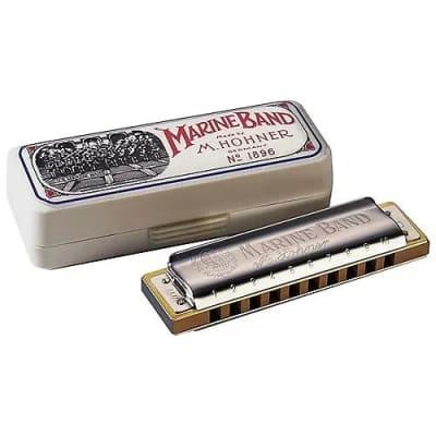 Hohner 1896 Marine Band Harmonica Key of B