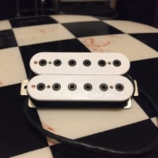 Seymour Duncan Pro Sho Full Shred Sh-10b White with Black Bolts with Box