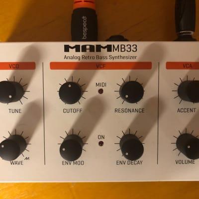 MAM MB33 RETRO early-2000s white