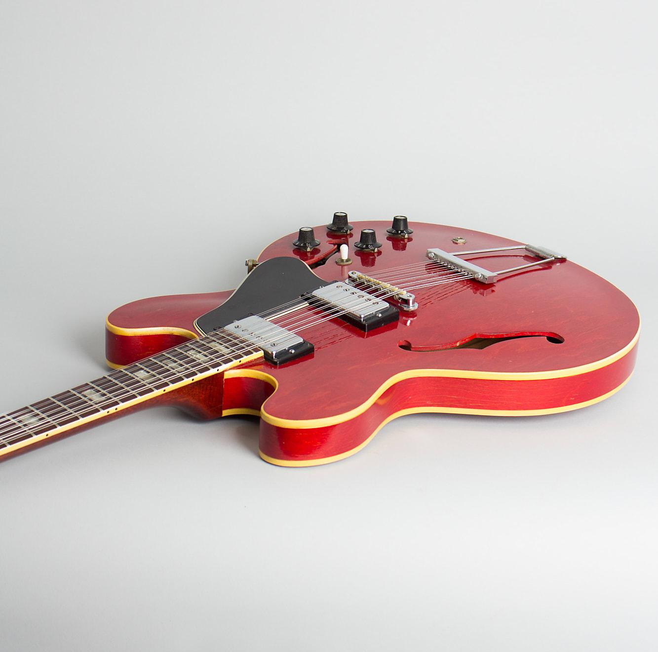 Gibson  ES-335-12 12 String Semi-Hollow Body Electric Guitar (1967), ser. #118815, brown hard shell case.