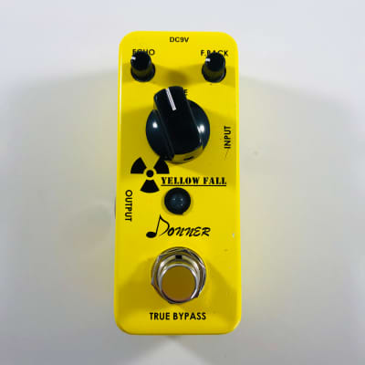 Donner Yellow Fall Analog Delay  *Sustainably Shipped*