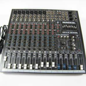 Mackie CFX12 12-Channel Compact Integrated Live Sound Reinforcement Mixer