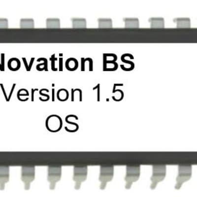 Novation Bass Station Firmware Latest Os V 1.50 Eprom Update Upgrade