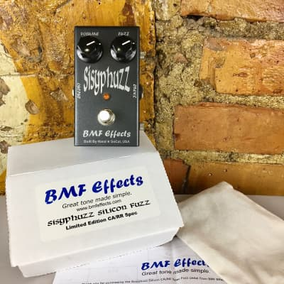 BMF Effects Sisyphuzz - Rich Robinson Limited Edition - Si Fuzz Face