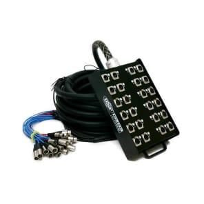 Elite Core Audio PS168100 Elite Core 16x8-Channel XLR Snake - 100'