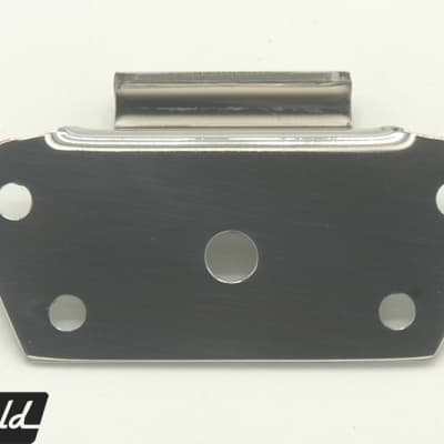 Adapter bracket to swap Rickenbacker trapeze tailpiece for R or harp