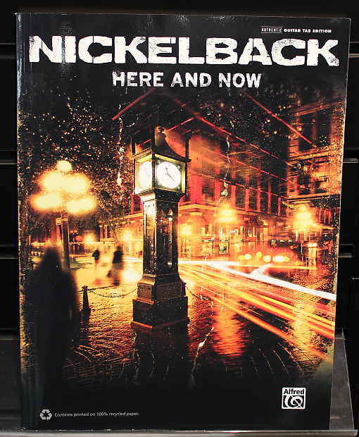 nickelback here and now guitar tab edition songbook reverb. Black Bedroom Furniture Sets. Home Design Ideas